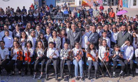 Conforman Orquesta Infantil y Juvenil de Mineral de la Reforma