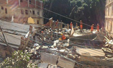 Al menos dos muertos tras derrumbe de edificios en Río de Janeiro