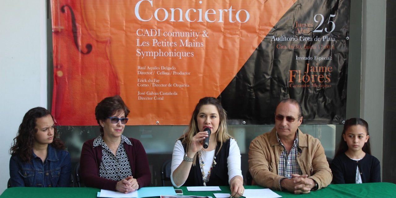 160 músicos en escena en un concierto infantil apoyado por Sectur-H