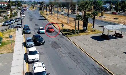 Con videovigilancia asegura SSPH auto presuntamente relacionado con robos