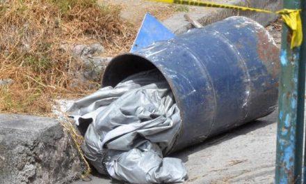 Encuentran cuerpo de mujer en tambo en Atotonilco de Tula