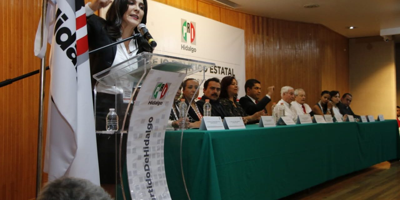 Ratifican a Érika Rodríguez como presidenta del PRI