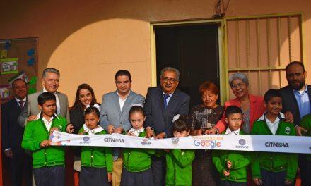 Inauguran primera aula digital de Google en Hidalgo