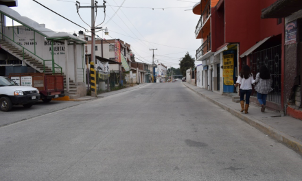 Hoy inicia apertura de vialidades en Santiago Tulantepec