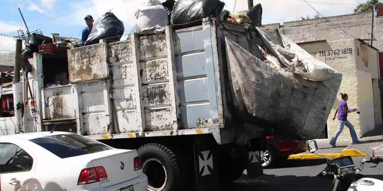 Trasladan desechos sólidos de Agua Blanca a Tulancingo por conflicto