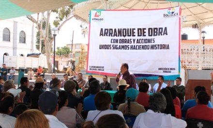 Invertirán en infraestructura 12 mdp en Tolcayuca