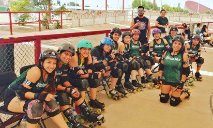 Querer es poder, Medusas Roller Derby Pachuca, campeonas de Copa Quinto Sol