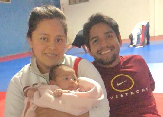 Madre, entrenadora y ex seleccionada nacional de judo: Ana León
