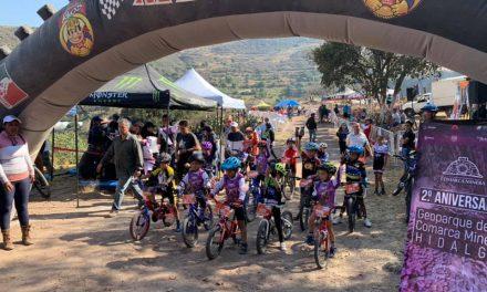Ciclistas cumplieron en la cuarta fecha del Serial de Pueblos Mágicos