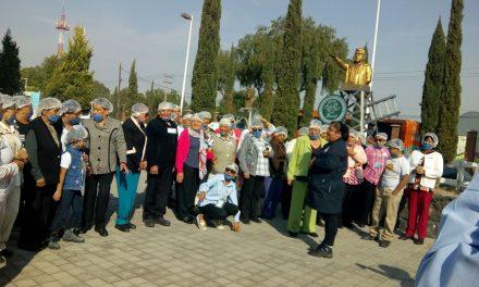 Adultos Mayores de Villa de Tezontepec participan en actividades del DIF Hidalgo