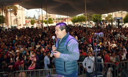 Conmemoran el Día de la mamá en Zapotlán de Juárez