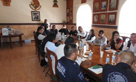 Continúan acciones coordinadas entre los 3 órdenes de gobierno en materia de Seguridad