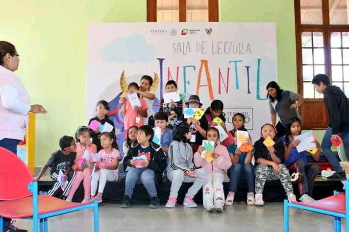 Esperan 70 mil visitantes en laFeria del Libro Infantil y Juvenil de Hidalgo 2019