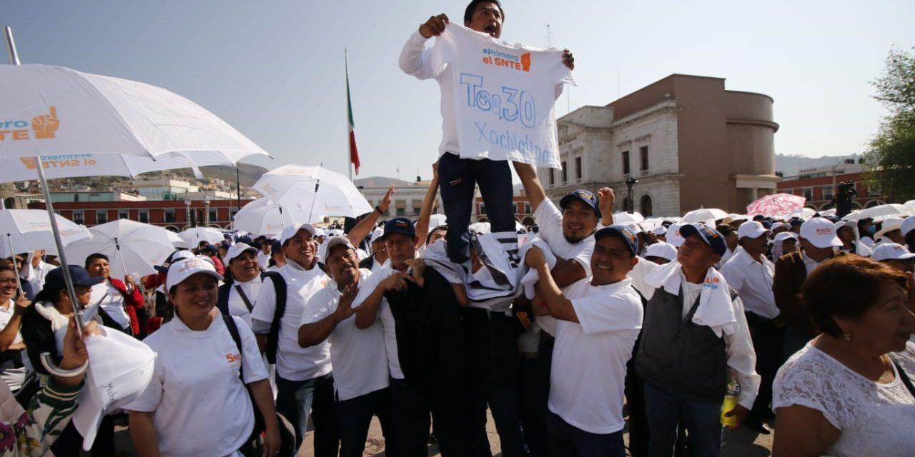 El SNTE es más grande que cualquier ambición personal: Morales Acosta