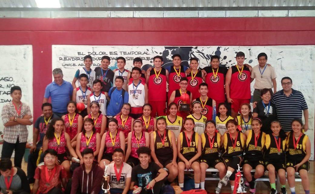 Panteras Pachuca y Mixquiahuala, campeones estatales de Olimpiada Nacional Federada
