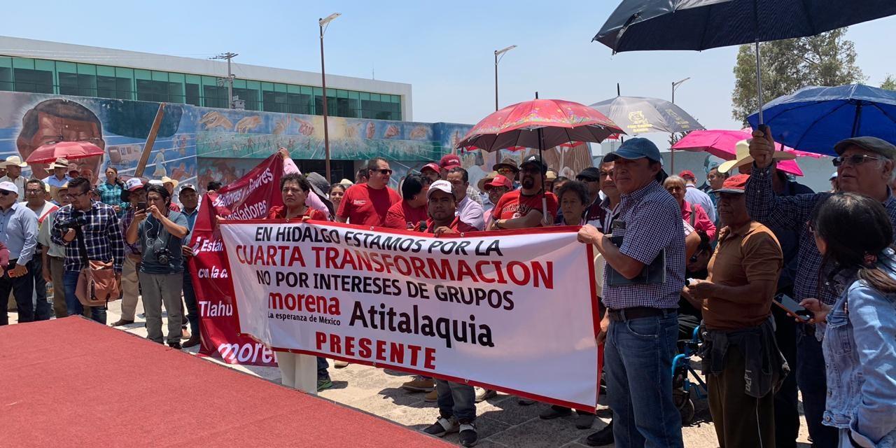 Protestan para exigir salida de Grupo Universidad