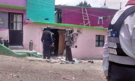 Una persona resultó lesionada por explosión en su vivienda