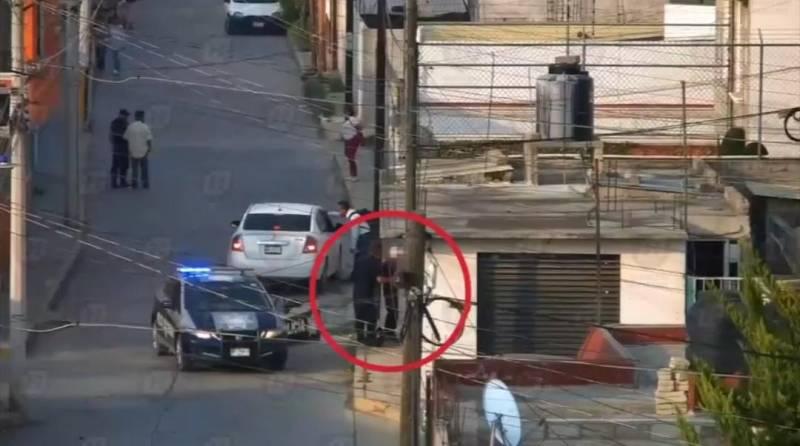 Tres detenidos en Pachuca por presunto robo