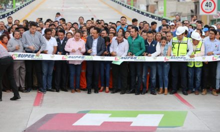 Inaugura Fayad primera etapa de supervía Colosio