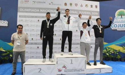 Uriel Gomeztagle, oro en Nacional Juvenil de TKD