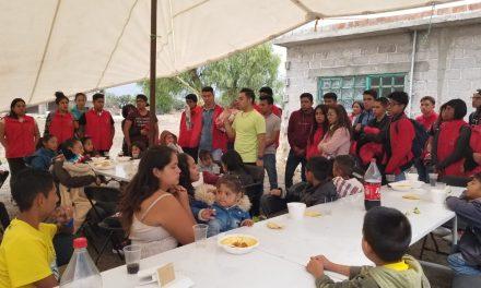 Jóvenes de Tizayuca celebran en su día a niños en situación de Vulnerabilidad