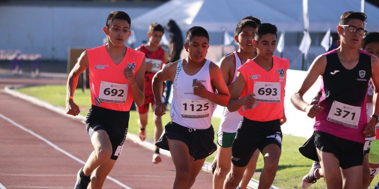 Culmina Gustavo Juárez cuarto en Atletismo en Olimpiada Nacional