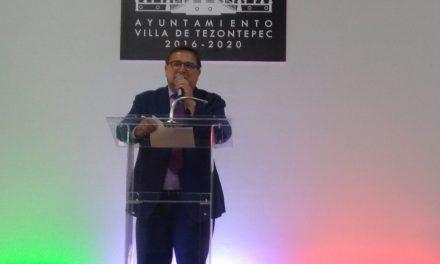 Alcalde de Villa de Tezontepec anuncia 13 obras para este 2019