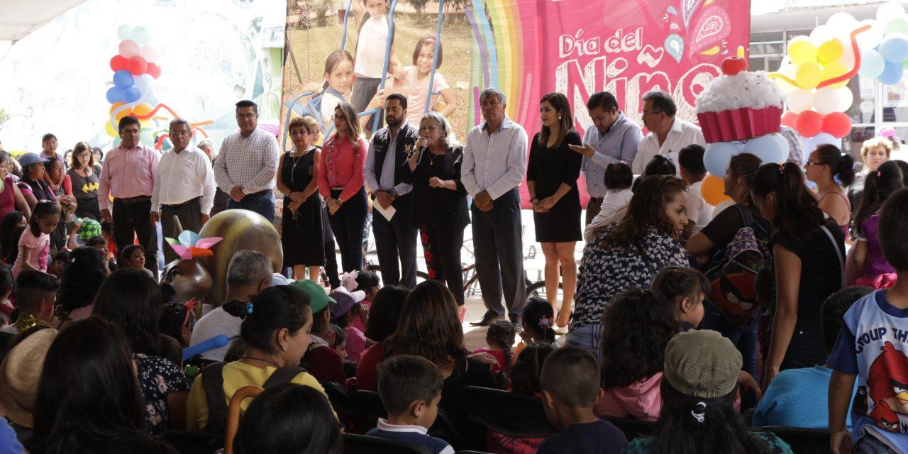 Durante una semana se celebran a más de 20 mil niños de Tizayuca