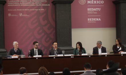 Omar Fayad y Gabriel García firman acuerdo de Ordenamiento Territorial por Santa Lucía
