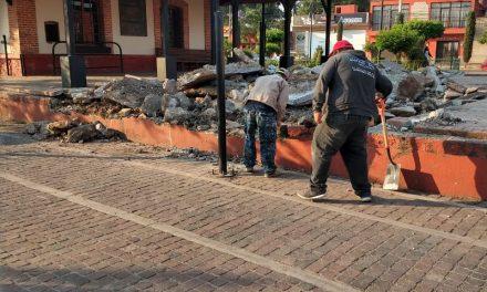Obra del Corredor Cultural del Ferrocarril en Tulancingo, podría ser reubicada