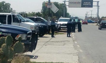 Blindan límites de Tizayuca con Estado de México por asaltos al transporte público
