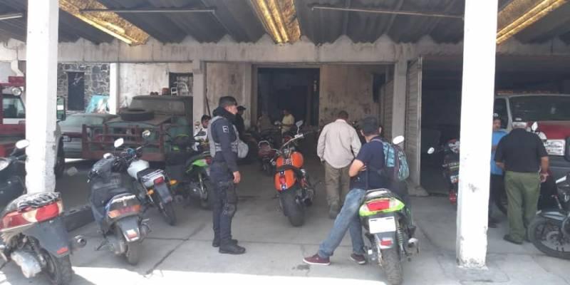 Implementan operativo para regular a los motociclistas en Tepeapulco