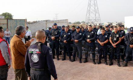 Reconocen labor de policías en Tizayuca