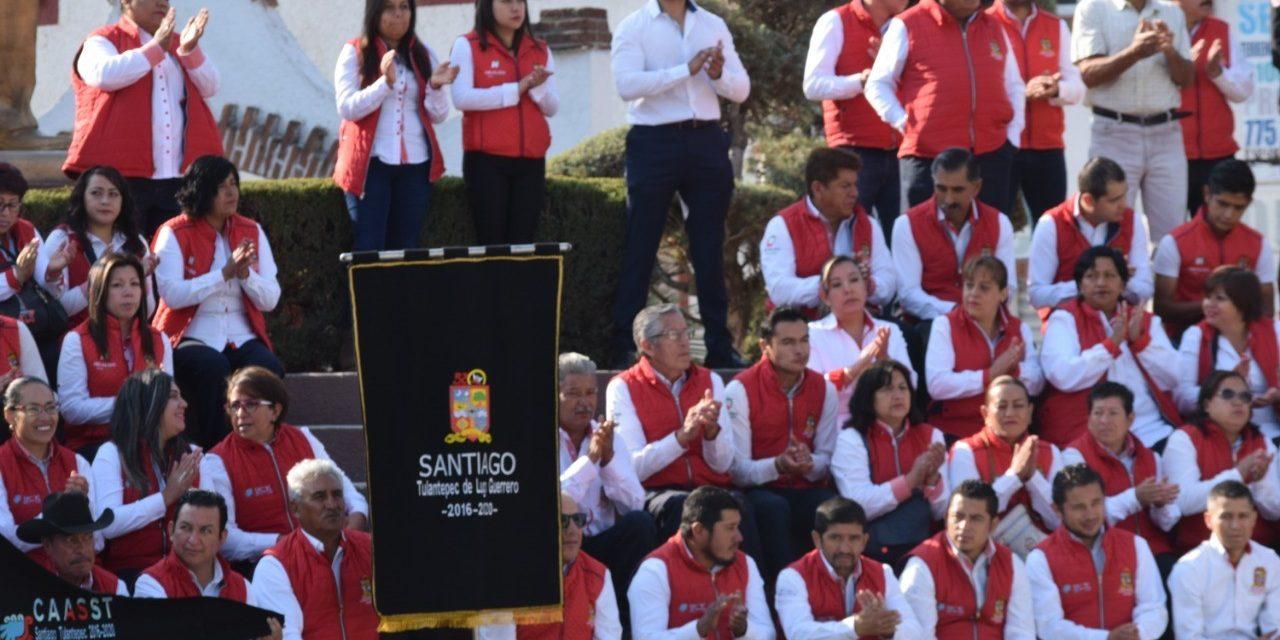 Santiago Tulantepec conmemora el Día del Trabajo