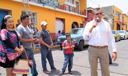 Inicia segunda etapa de mejoramiento en Centro Histórico de Tepeapulco