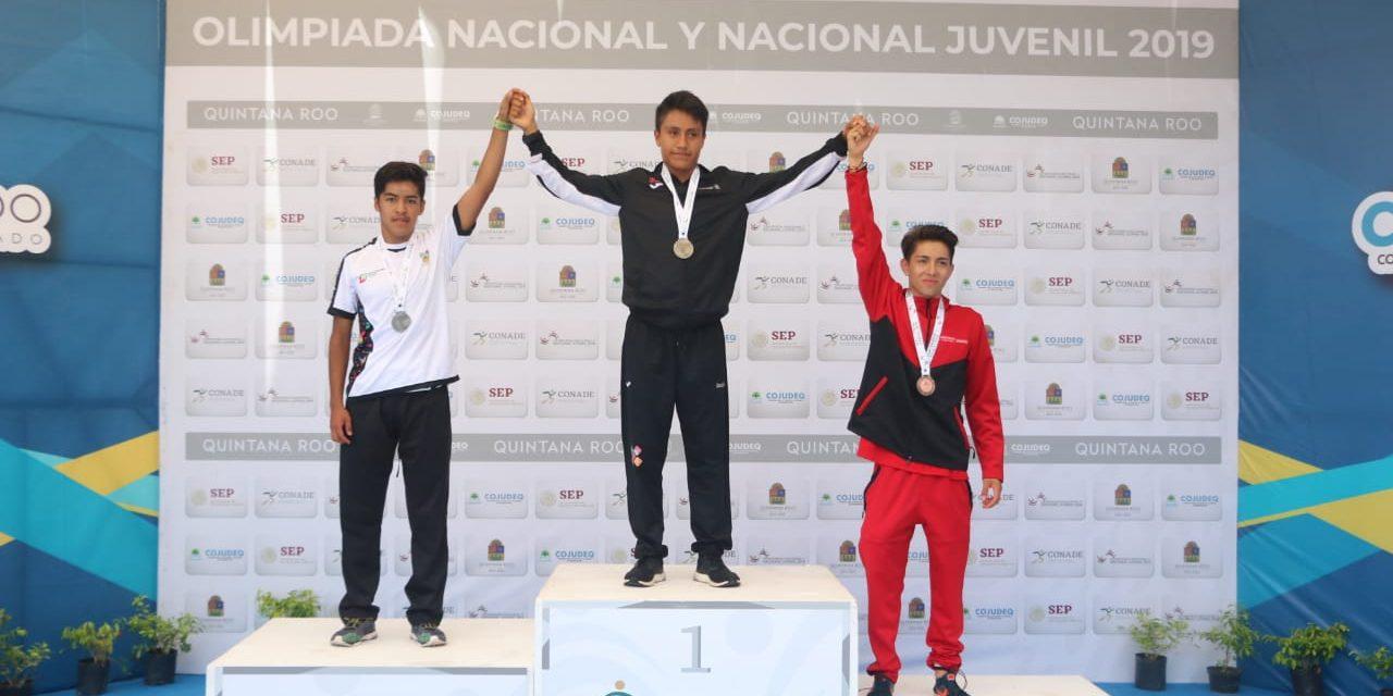Un oro y dos platas para Hidalgo en Sistema Nacional de Competencias