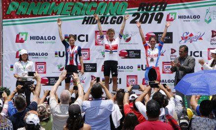 Lució el arranque del Campeonato Panamericano de Ruta 2019 en Pachuca