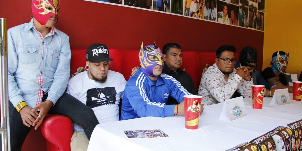 Cierre de temporada de la empresa de lucha libre Vanguardia