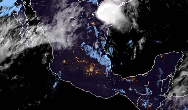 Continuarán lluvias este viernes; hay posibilidad de tormentas y granizadas