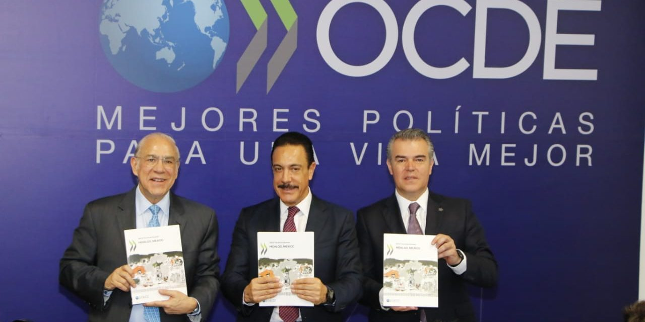 Entrega OCDE Estudio Territorial de Hidalgo