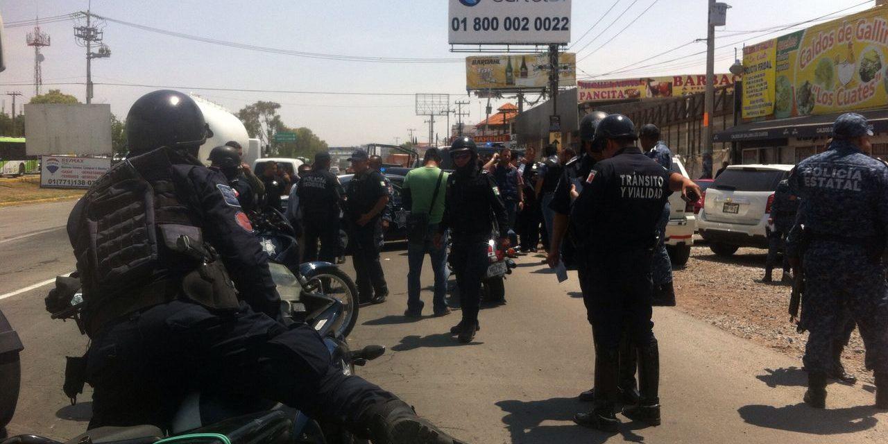 Detienen a 3 presuntos secuestradores en la México-Pachuca