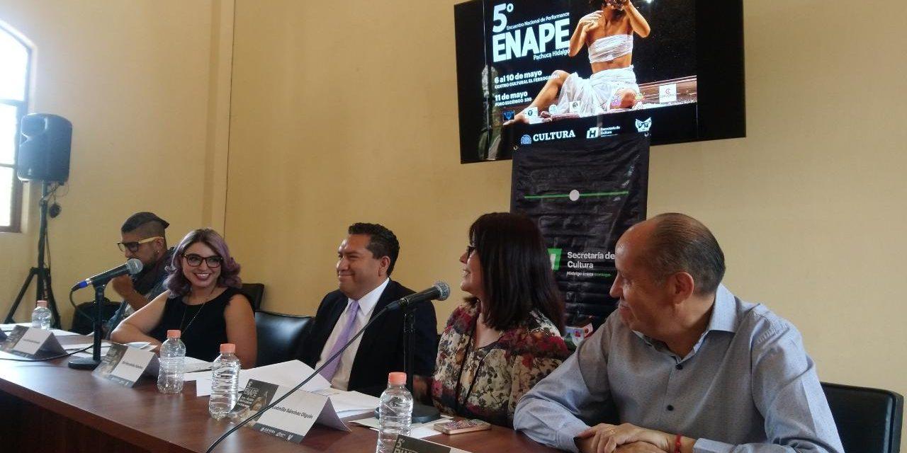 Encuentro Nacional de Performance  se llevará a cabo en Pachuca