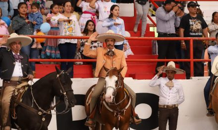 Inaugura Fayad Campeonato Estatal Charro en Tetepango