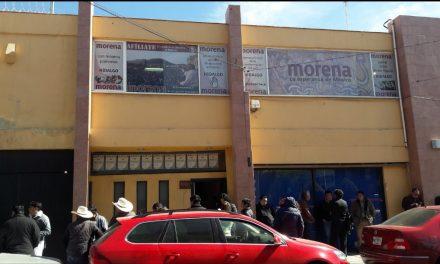 Sin definir a dirigencia estatal de Morena