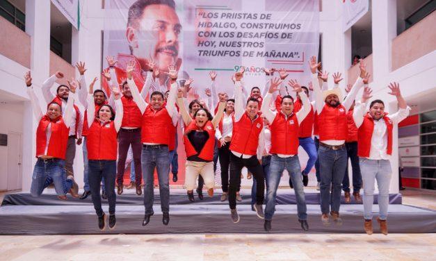 PRI Hidalgo buscar ser referente político para la juventud
