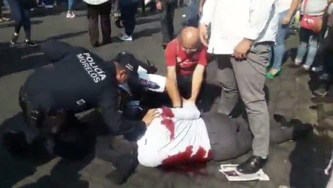 Un muerto y tres heridos deja balacera en Cuernavaca