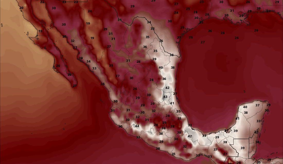 Temperatura en Hidalgo superaría los 40 grados
