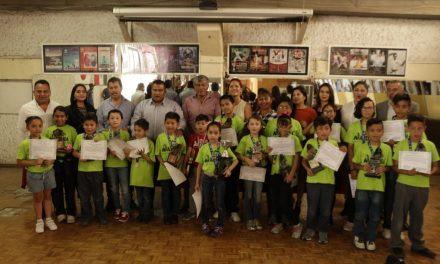 En Tizayuca reconoce a niños ganadores de campeonato nacional de cálculo mental