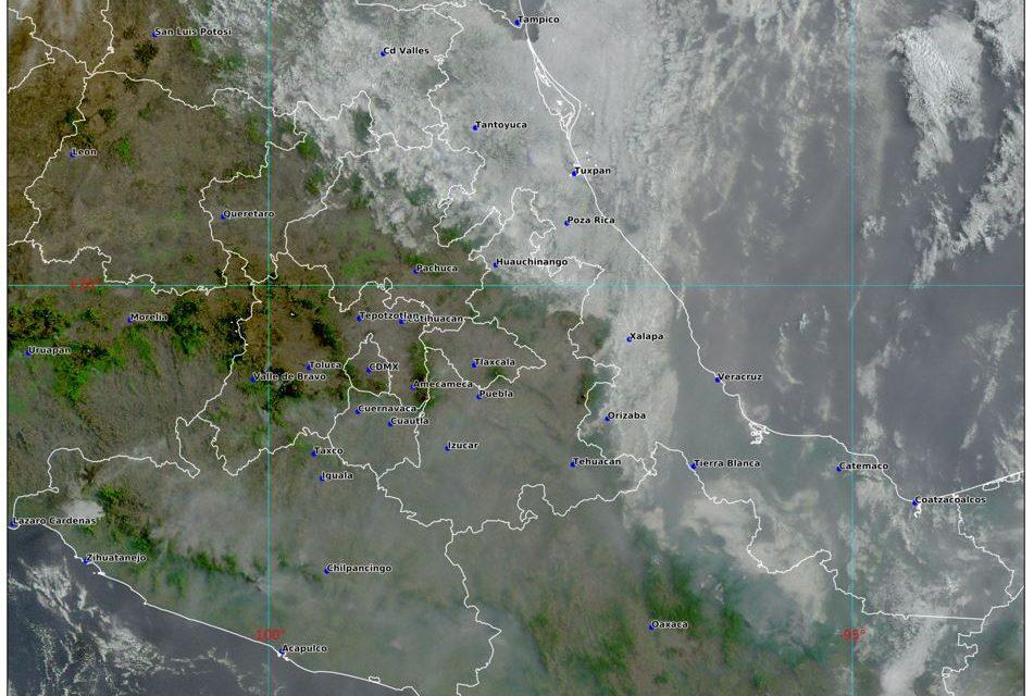 Existe potencial de lluvias con posible desarrollo de tormentas eléctricas