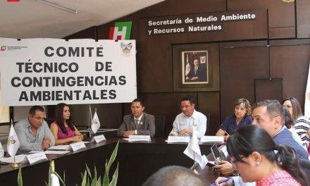 Declaran contingencia ambiental en Pachuca